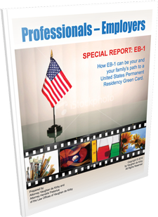 Professionals-Employers:  Special Report EB-1